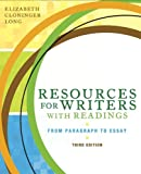 Resources for Writers with Readings (3rd Edition)