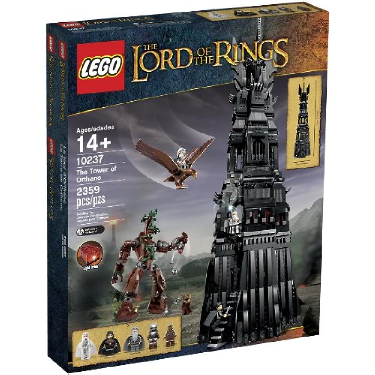 [해외] LEGO 10237 LORD OF THE RINGS THE TOWER OF ORTHANC BUILDING SET-6025198