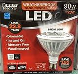 Feit Par38 LED 20 Watt (90W Equivlant) Flood Bulb, Bright White 3000K Weatherproof Discount