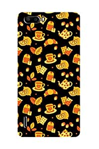 ZAPCASE PRINTED BACK COVER FOR HONOR 6 PLUS - Multicolor