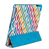 Jonathan Adler iPad Case with Smart Cover - Stepped Diamonds