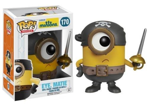 Funko POP! Movies Minions Eye, Matie Vinyl Action Figure 170