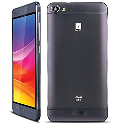 "Iball Andi HD6 (Dual Sim/ 1.3 Ghz/ 1GB Ram/ 6 ""IPS HD/ 8GB / 3000mAh)"