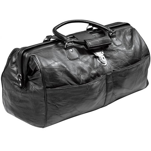 Black Leather QuickTripper Bag