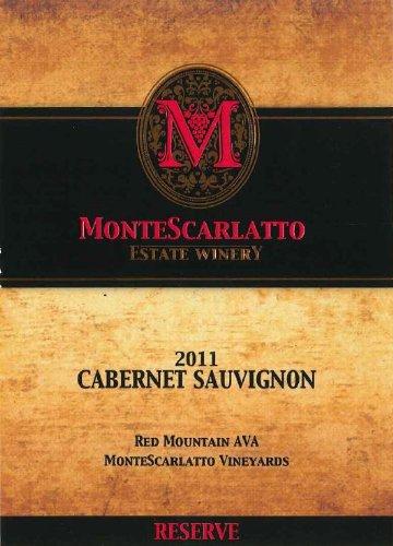 2011 Montescarlatto Red Mountain Reserve Cabernet Sauvignon 750 Ml