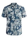 Quiksilver Mens Island Time Button Up Shirt