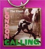The Clash - London Calling - Classic Album Cover Metal Keyring
