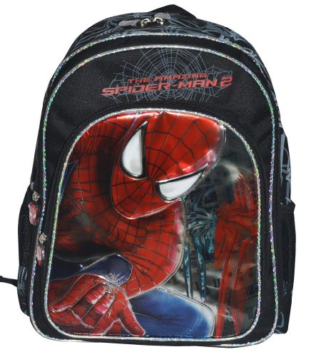 Simba Simba Amazing Spider Man 2 - Web Hunter Backpack, Multi Color (18-Inch) (Multicolor)