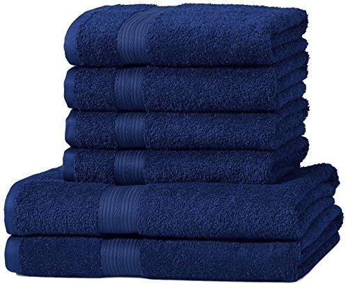 amazonbasics-set-di-2-asciugamani-da-bagno-e-4-asciugamani-per-le-mani-che-non-sbiadiscono-colore-bl