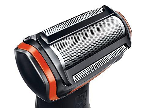 Philips BG2024/15 - Afeitadora corporal sin cable, 1 peine, 3 mm, color negro y naranja 19.90€