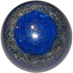 Lapis Ball 10 Blue Third Eye Chakra Crystal Spiritual Awakening Healing Stone 2.1""