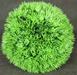 Small Grass Topiary Ball Decorative Aquarium Ornament