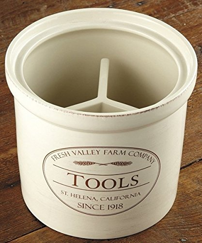 CHEFS Fresh Valley Farm Tool Crock (Chefs Stoneware Canisters compare prices)
