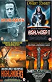 Highlander Complete Movie Anthology All Film [4 Discs] DVD Collection Boxset: Part 1, 2: Quickening , 3: Sorcerer , 4: End Game + Extras