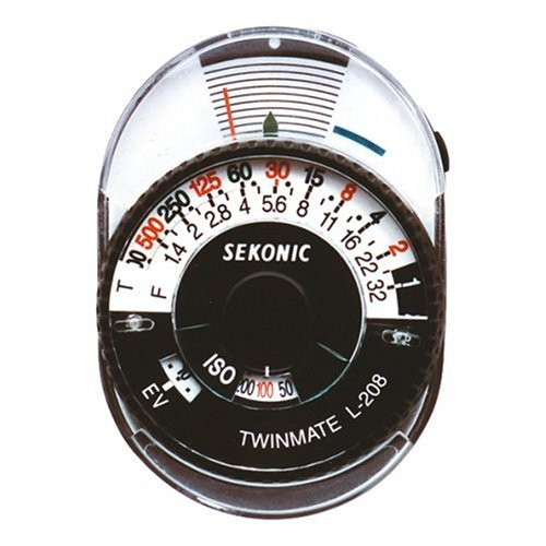 Sekonic Twinmate L-208 Compact Analogue Light Meter