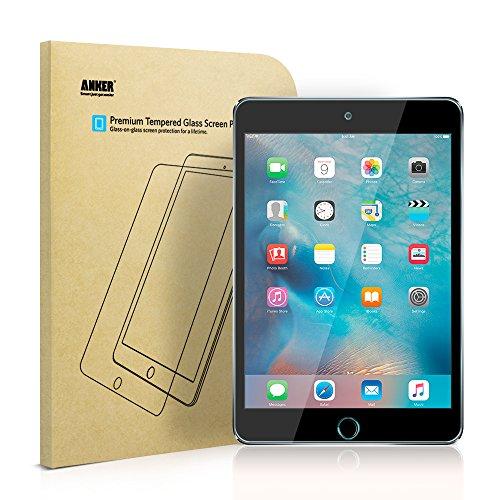 Anker GlassGuard iPad mini 4用 強化ガラス液晶保護フィルム *iPad mini 2/3 不対応 …