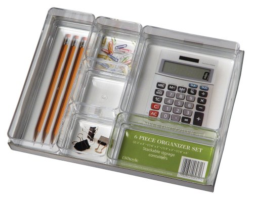 Us Acrylic® 6Pc Acrylic Organizer Set