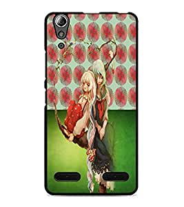 PrintDhaba Friends D-5023 Back Case Cover for LENOVO A6000 PLUS (Multi-Coloured)