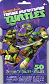 Teenage Mutant Ninja Turtles 3D Novelty Pack of 50 Temporary