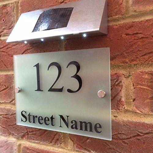 moderne-house-sign-plaque-numero-de-porte-street-nom-avec-lampe-solaire