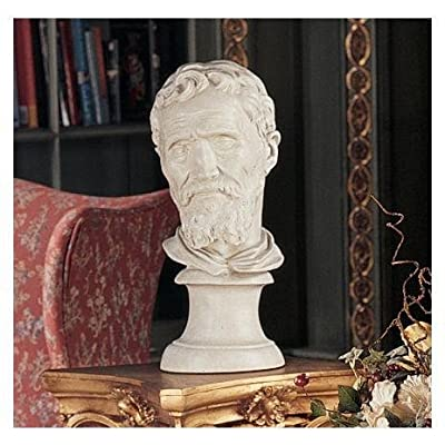 Design Toscano NG30845 Michelangelo Buonarroti Bust