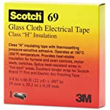 Scotch® Glass Cloth Electrical Tapes 69 - 69 3/4x66 scotch glass cloth tape