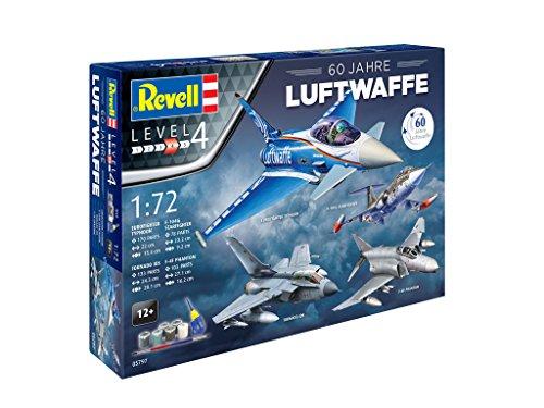 Revell-05797-Geschenkset-60-Jahre-Luftwaffe-im-Mastab-172