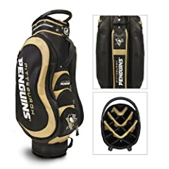 Pittsburgh Penguins NHL Cart Bag - 14 way Medalist - TGO-15235 by Team Golf
