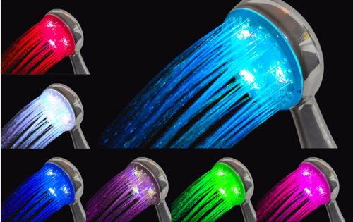 Rainbow Flash Led Shower Head (Japan Import)