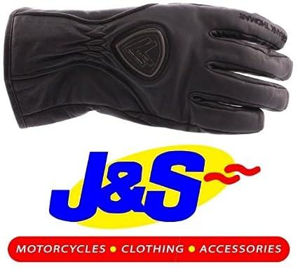 Frank Thomas fth20136Chivers de gants de moto imperméables en cuir moto gants J & S