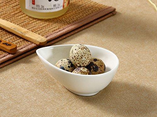 雫型万能小鉢/おうちカフェ/業務用食器/鉢/小皿/小付/珍味入/白食器