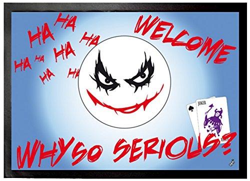 Emoticon - Emoji, Joker, Why So Serious Zerbino (70 x 50cm)
