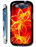 The Hallowmas Gift With Beautiful Fire Flowers Horses Dragon Nice Fashion Cell Phone Cases Design Special For Samsung Galaxy S3 i9300 No.5