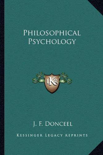 Philosophical Psychology