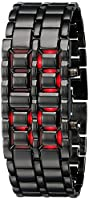 Shvas Iron Samurai Digital LED bracelet Watch for Men [JMDSAMURAI]