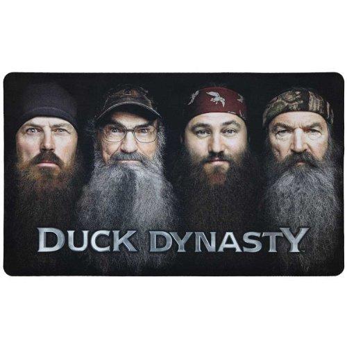"""Duck Dynasty Beards Are Here Floor Mat Rug - 18"""" X 30"""" - Clearance"""