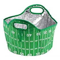 6 Gallon Football Tailgate Cooler Tote