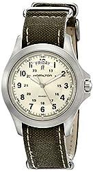 Hamilton Men's H64451823 Khaki King Beige Dial Watch