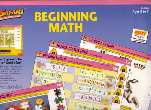 Geosafari Electronic Learning Game Beginning Math - Buy Geosafari Electronic Learning Game Beginning Math - Purchase Geosafari Electronic Learning Game Beginning Math (Educational Insights, Toys & Games,Categories,Electronics for Kids,Learning & Education,Toys)