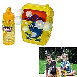 Dazzling Toys Kids Favorite Automatic Bubble Machine Maker