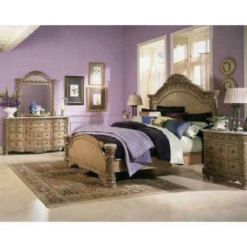 South shore panel bedroom set by ashley for Bedroom furniture amazon