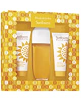 Elizabeth Arden Sunflower Perfume Gift Set for Women with 100ml Edt Spray, 100ml Body Lotion and 100ml Body Cleanser Cream