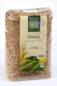 Bohlsener Mühle Dinkel, 5er Pack (5 x 1000 g Packung) - Bio - Bohlsener Mühle