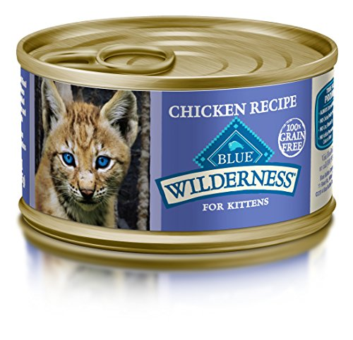 Blue Buffalo Cat Kitten Chicken Entree Wet Cat Food, 3 oz Can, Pack of 24 (Blue Buffalo Canned Cat compare prices)