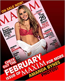Maxim February 2010 Amanda Bynes Single Issue Magazine – February 1