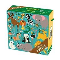 Mudpuppy Animals of the World Jumbo Puzzle  By Mudpuppy