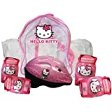 Hello Kitty Protective Skating Pads and Helmet