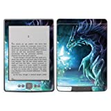 Diabloskinz Vinyl Adhesive Skin Decal Sticker for Amazon Kindle - Dragon and Faerie
