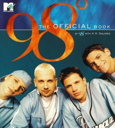 98 Degrees The Official Book 4 Color