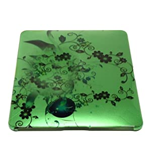 Green Floral Hard Case & Screen Protector for New Apple iPad Tablet WiFi 16GB 32GB 64GB